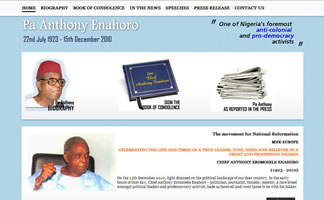 Official Website for the Late Anthony Enahoro