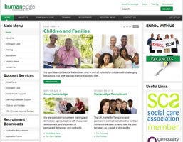 Human Edge : Human Resource Website
