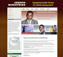 Joseph Ministries - Church Website