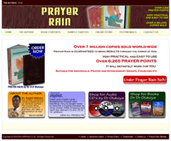 Prayer Rain - UK - E-Commerce