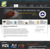 RCCG - School of Disciples UK Website