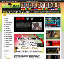 Voice of Africa Radio - Media and Broadcasting